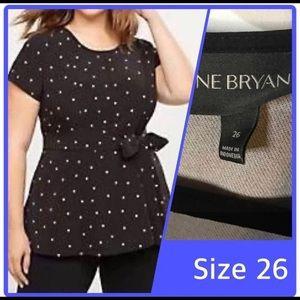 🖤NWOT Lane Bryant Lena Top 4X (26)🖤